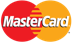 Mastercard credit cards accepted